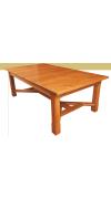 Изготовление деревянного стола с разветвленным основанием своими руками