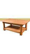 Изготовление кофейного столика из дерева своими руками