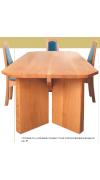 Современный стол из слэбов